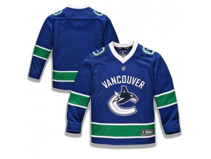 Detský Dres Vancouver Canucks Replica Home Jersey