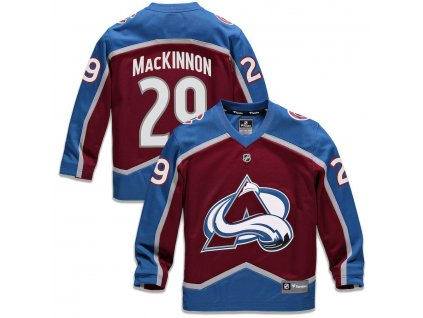 Detský Dres #29 Nathan MacKinnon Colorado Avalanche Replica Home Jersey