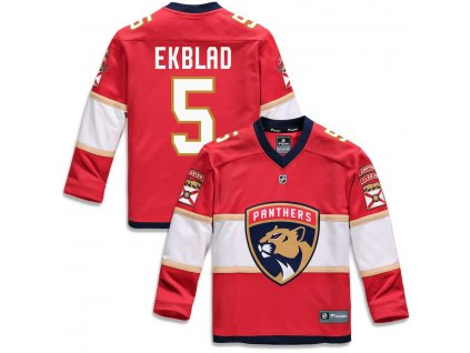 Detský Dres #5 Aaron Ekblad Florida Panthers Replica Home Jersey