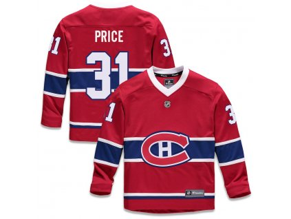 Detský Dres #31 Carey Price Montreal Canadiens Replica Home Jersey
