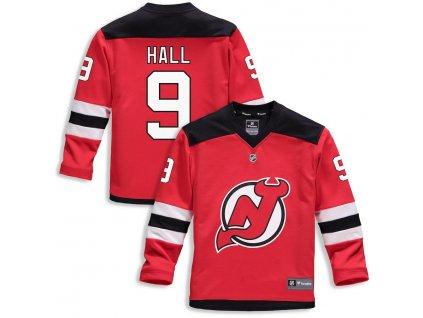 Detský Dres #9 Taylor Hall New Jersey Devils Replica Home Jersey
