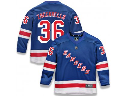 Detský Dres #36 Mats Zuccarello New York Rangers Replica Home Jersey