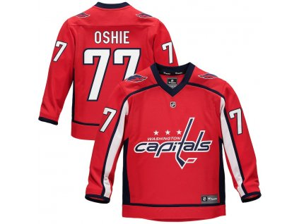 Detský Dres #77 T.J. Oshie Washington Capitals Replica Home Jersey