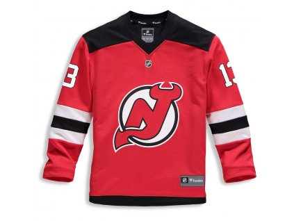 Detský Dres #13 Nico Hischier New Jersey Devils Replica Home Jersey