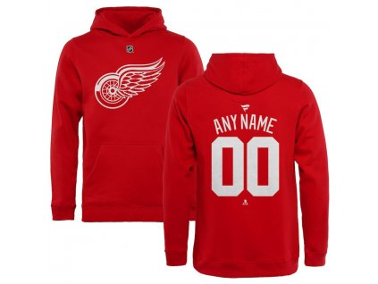 Detská Mikina Detroit Red Wings Custom Team Authentic