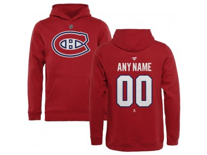 Detská Mikina Montreal Canadiens Custom Team Authentic