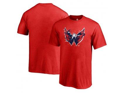 Detské Tričko Washington Capitals Splatter Logo