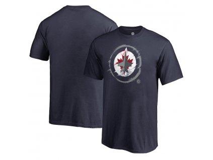 Detské Tričko Winnipeg Jets Splatter Logo