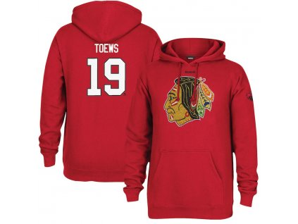 Mikina #19 Jonathan Toews Chicago Blackhawks 2017 NHL Winter Classic