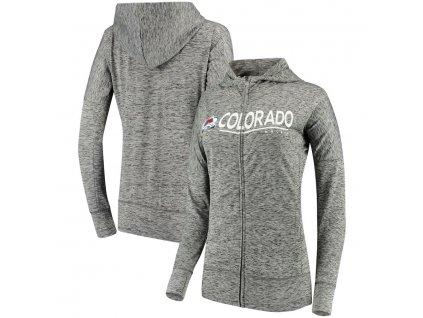 Dámska Mikina Colorado Avalanche Reciever Full-Zip Hoodie
