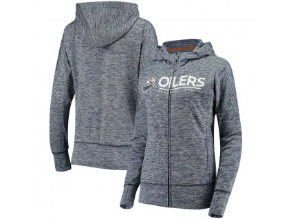 Dámska Mikina Edmonton Oilers Reciever Full-Zip Hoodie