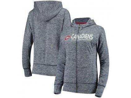 Dámska Mikina Montreal Canadiens Reciever Full-Zip Hoodie
