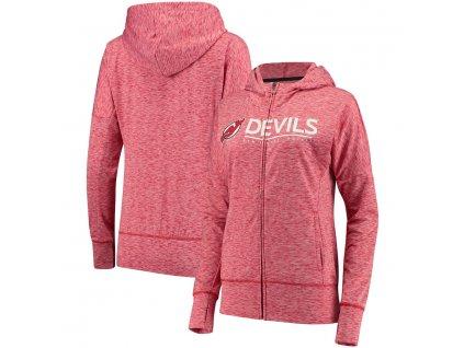 Dámska Mikina New Jersey Devils Reciever Full-Zip Hoodie