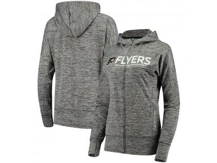Dámska Mikina Philadelphia Flyers Reciever Full-Zip Hoodie