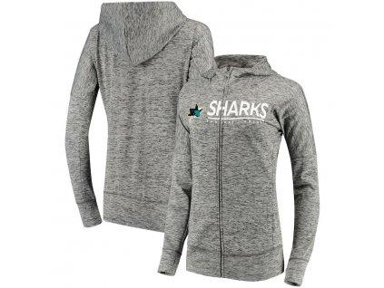 Dámska Mikina San Jose Sharks Reciever Full-Zip Hoodie