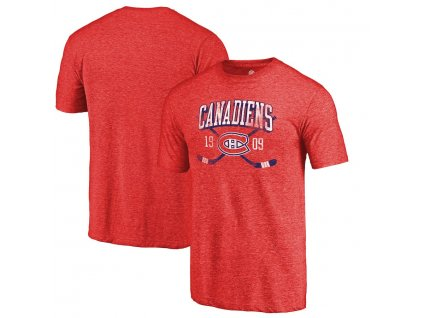Tričko Montreal Canadiens Vintage Line Shift Tri-Blend
