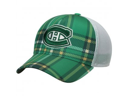 Šiltovka Montreal Canadiens Adidas St. Patrick's Day Trucker