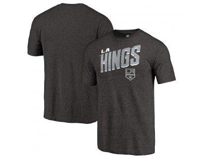 Tričko Los Angeles Kings Slant Strike Tri-Blend