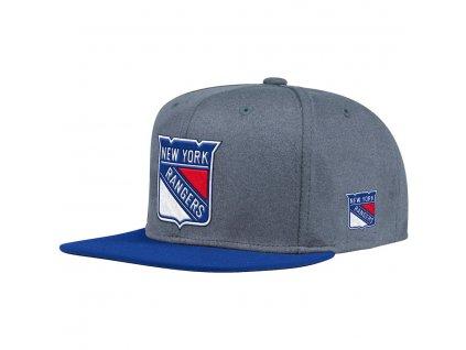 Šiltovka New York Rangers Adidas Heather Snapback