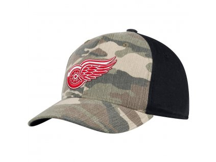 Šiltovka Detroit Red Wings Adidas Camo Adjustable