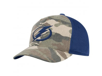 Šiltovka Tampa Bay Lightning Adidas Camo Adjustable