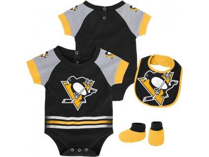 Detský Set Pittsburgh Penguins Blocker