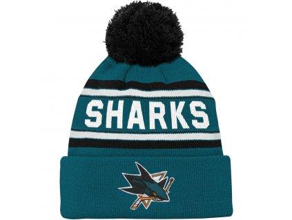 Detská Čiapka San Jose Sharks Wordmark