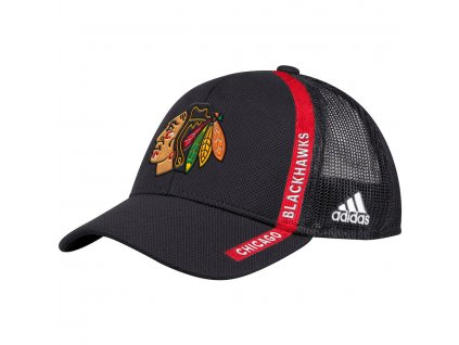 Šiltovka Chicago Blackhawks Adidas Charlie Trucker