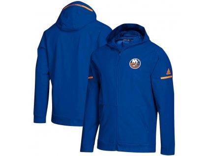 Mikina New York Islanders Squad Woven Full-Zip Hoodie