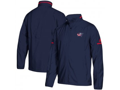 Bunda Columbus Blue Jackets Adidas Rink Full-Zip Jacket