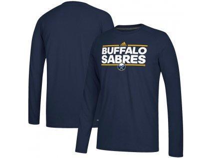 Tričko Buffalo Sabres Adidas Dassler Climalite Long Sleeve