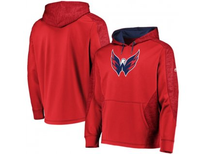 Mikina Washington Capitals Majestic Armor Therma Base Pullover Hoodie
