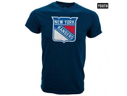 Dětské tričko New York Rangers Core Logo Tee