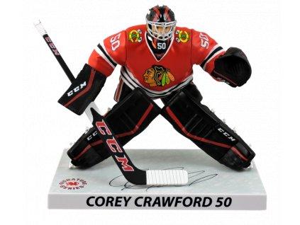 Figurka Chicago Blackhawks Corey Crawford #50 Imports Dragon Player Replica