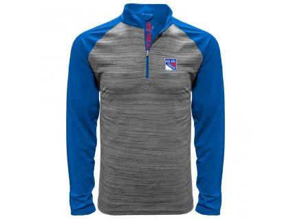 Mikina New York Rangers Vandal Quarter Zip Midlayer
