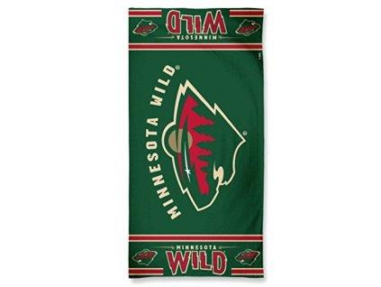 Osuška Minnesota Wild Fibre Beach Towel