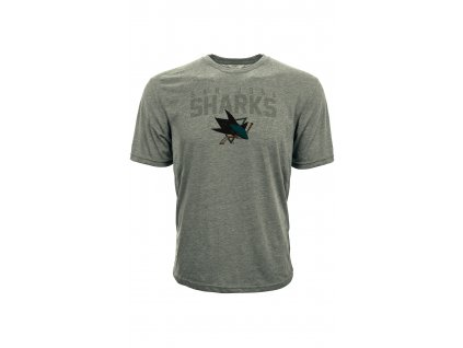 Tričko San Jose Sharks Shadow City Tee