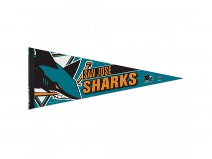 Vlajka San Jose Sharks Premium Pennant