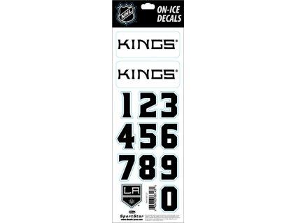 Samolepky na prilbu Los Angeles Kings Decals