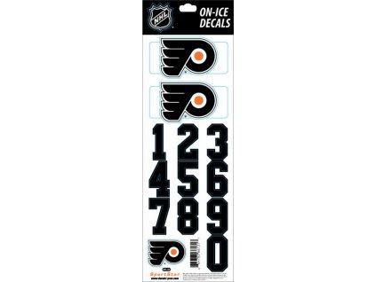 Samolepky na prilbu Philadelphia Flyers Decals