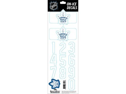 Samolepky na prilbu Toronto Maple Leafs Decals Royal
