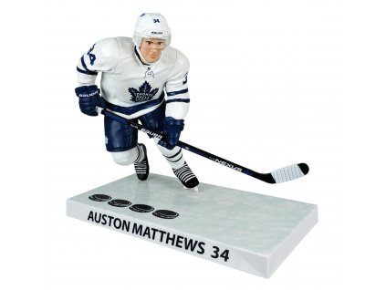 Figurka Toronto Maple Leafs Auston Matthews #34 FOUR GOALS NHL DEBUT Imports Dragon Player Replica