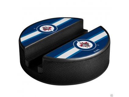 Držiak na telefón Winnipeg Jets Puck Media Holder