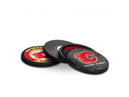 Puk Calgary Flames NHL Coaster