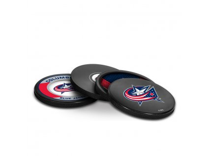 Puk Columbus Blue Jackets NHL Coaster