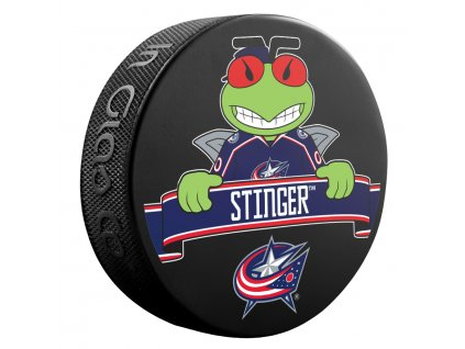 Puk Columbus Blue Jackets NHL Mascot