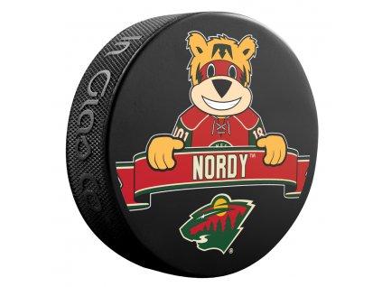 Puk Minnesota Wild NHL Mascot