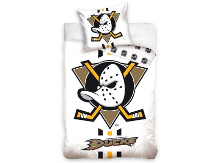 NHL obliečky Anaheim Mighty Ducks White