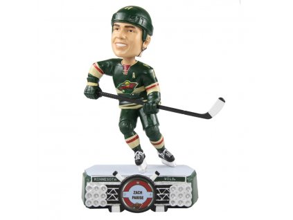 Figúrka Minnesota Wild Zach Parise #11 Stadium Lights Bobblehead