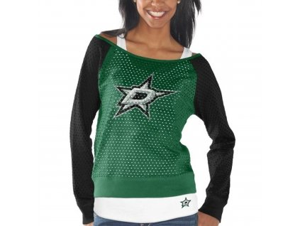Set dámských triček Dallas Stars Holey Long Sleeve Top and Tank Top II Set
